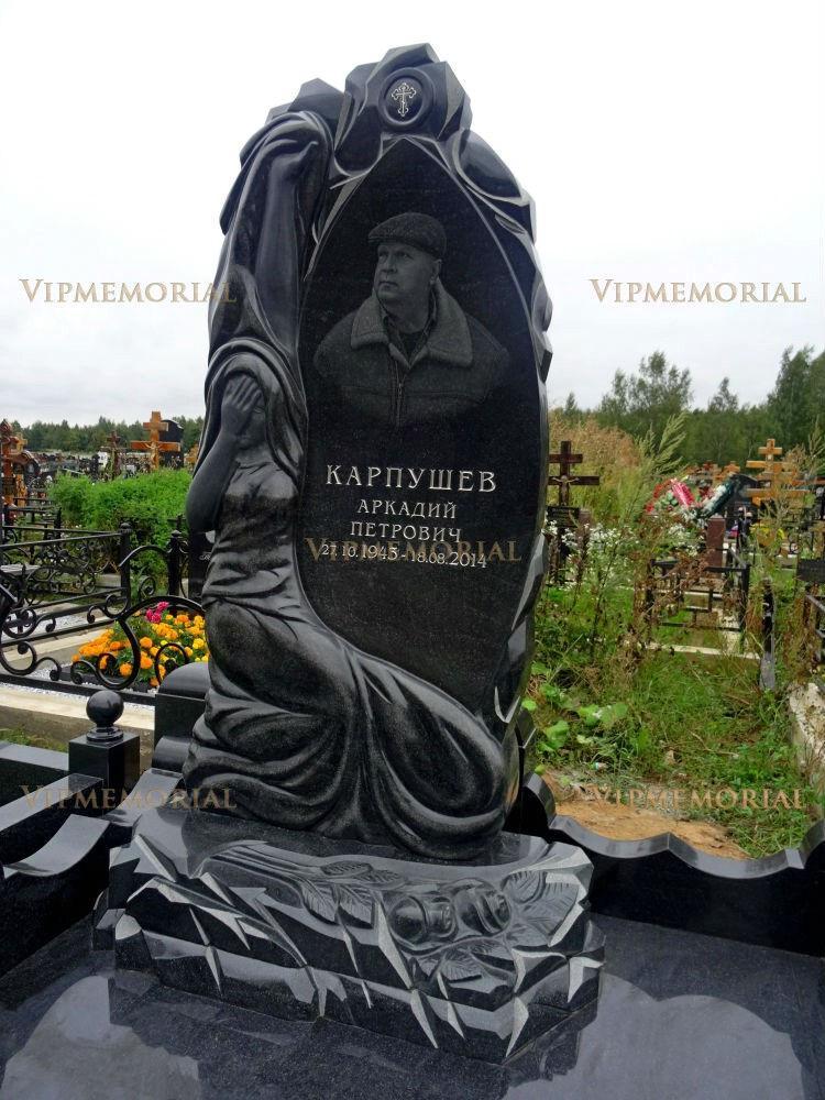 Купить памятник из мрамора Сергиев Посад памятники в ярославле фото хаванское кладбище